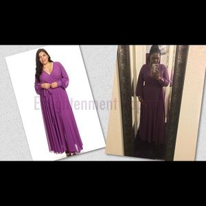 Dresses & Skirts - Plus Size Purple Maxi Dress🌾🌸💜🍂